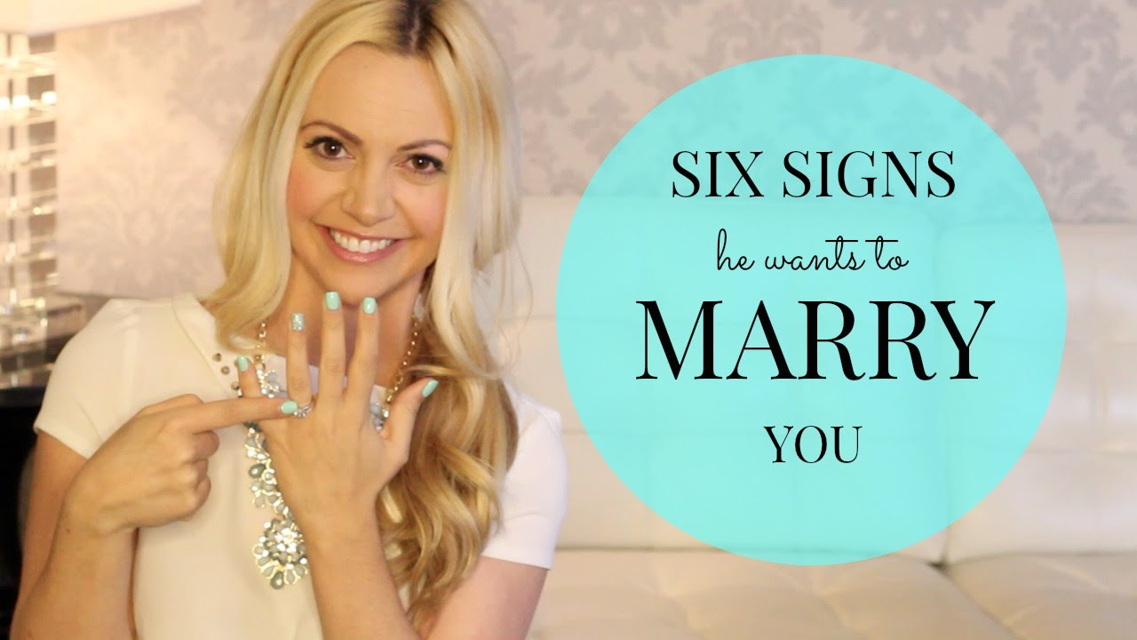 To wants a nigerian you man signs marry How To