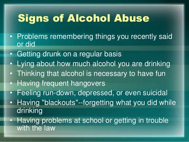 How to know you re an alcoholic