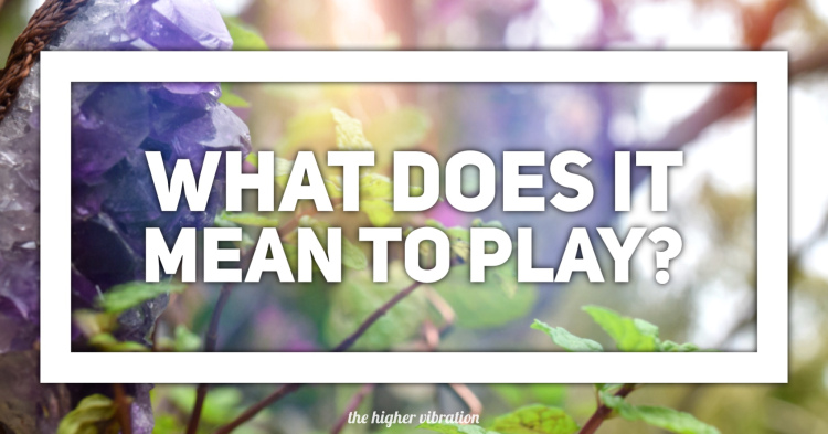 What does playful mean
