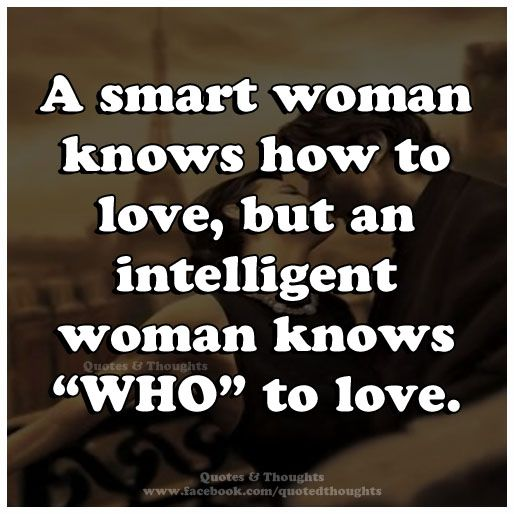How to love smart