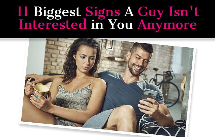 Signs he isn t interested