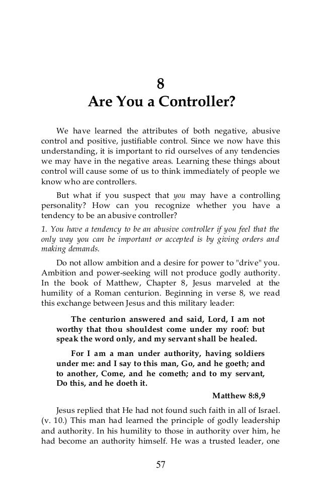 Am ia controlling person