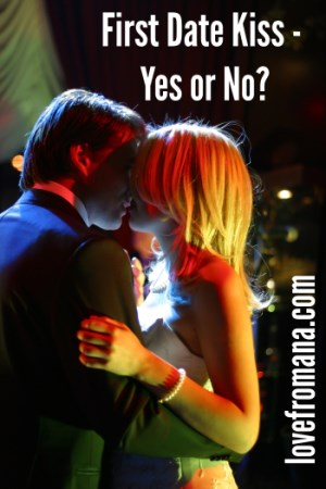 Should you kiss on a first date