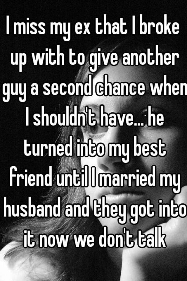 Should i give my husband another chance