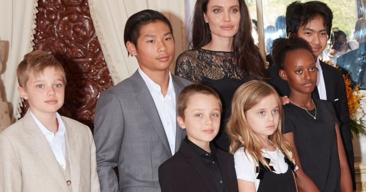 Angelina jolie kids ages