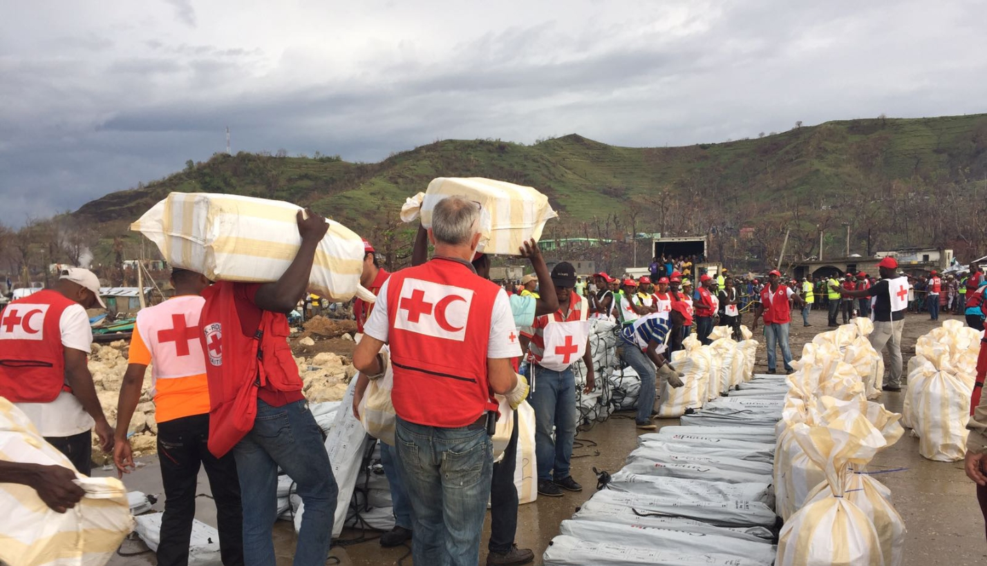 American red cross haiti