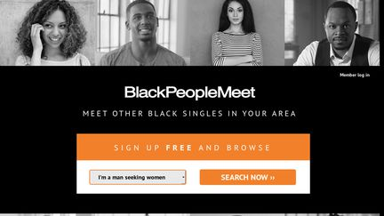 Black people meet sign in