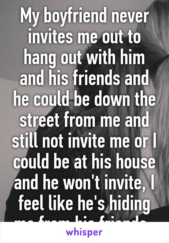 If a guy invites you to his house