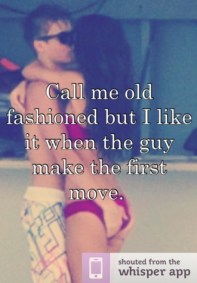 Making the first move on a guy