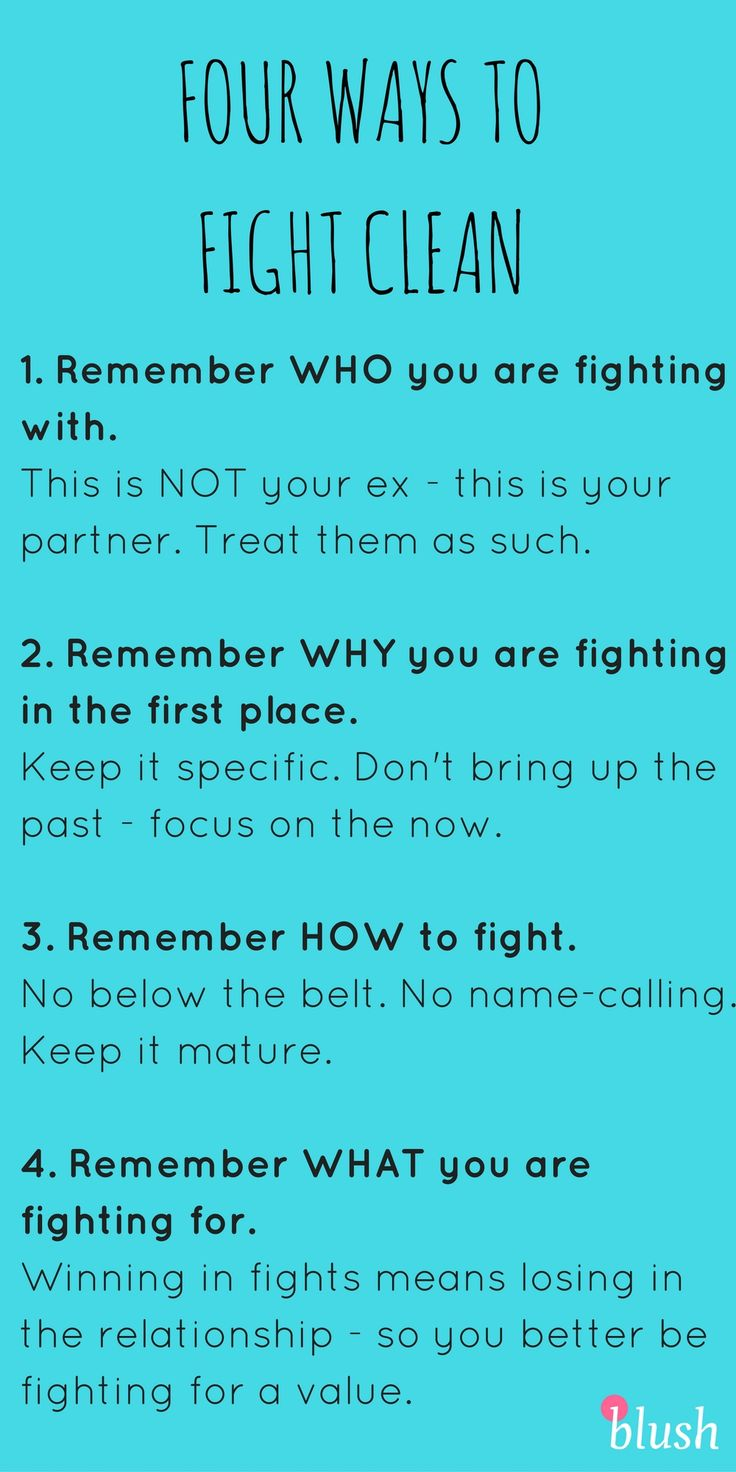 Fighting in the beginning of a relationship