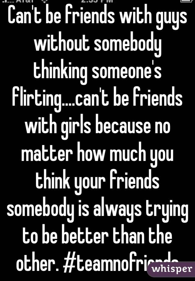 Can girls and guys be friends
