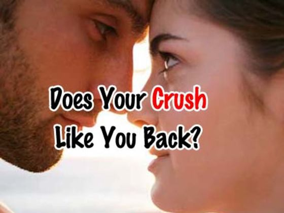 How do u know if your crush likes you back