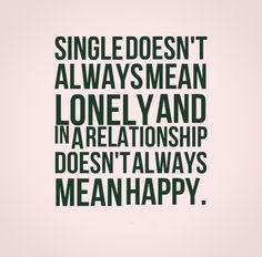 What does single mean in a relationship