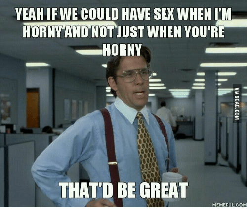 When a man doesnt want to have sex