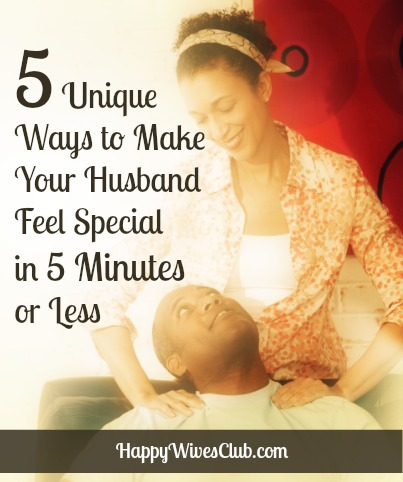 How to make your man feel needed