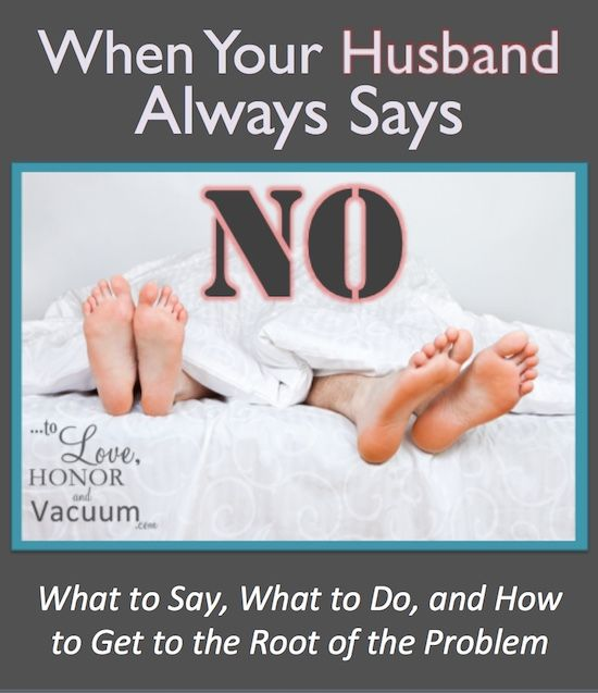 How to tell my husband i want sex