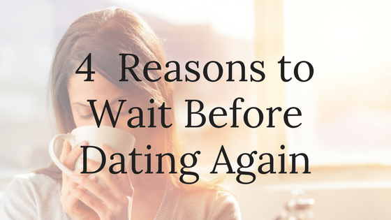 How long to wait after divorce