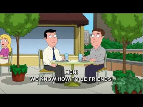 Men we know how to be friends