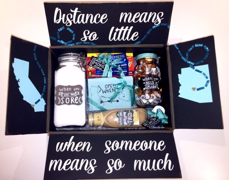 Good long distance gifts
