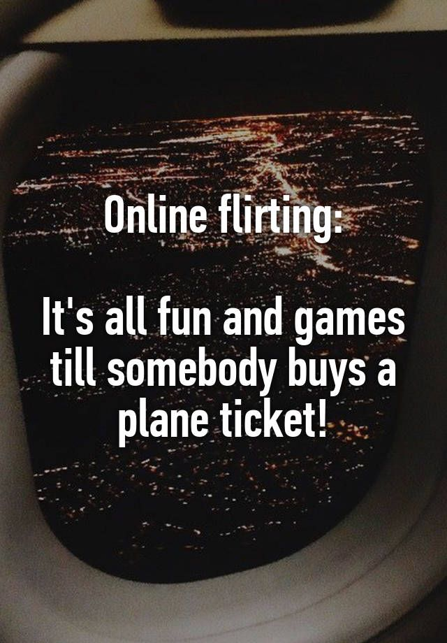 Flirting and dating games