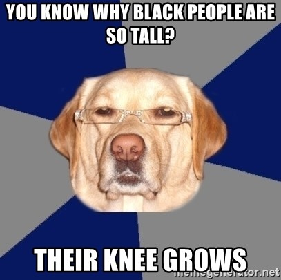 Why are black people so tall