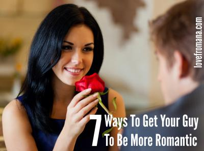 How to be romantic to a guy