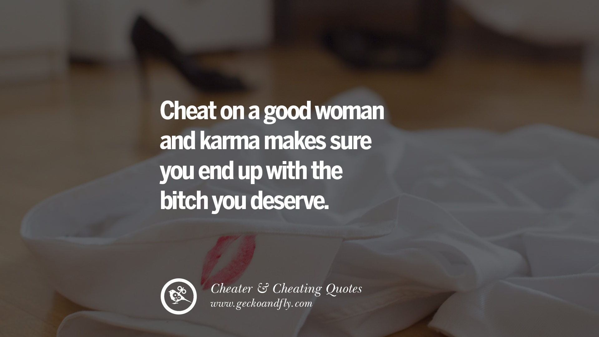 What to do after you catch your husband cheating