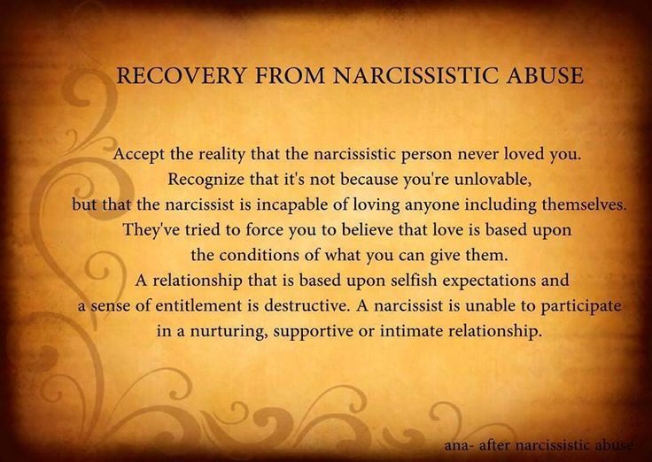 Signs you ve been abused by a narcissist