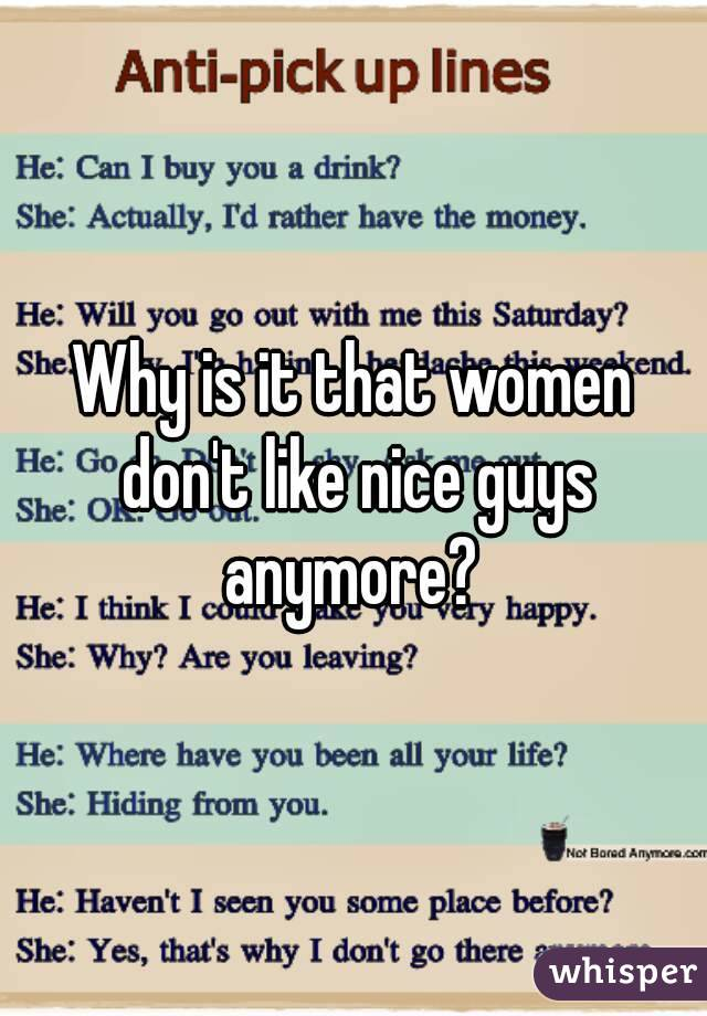 Do women like nice guys
