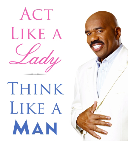 How to act like a man