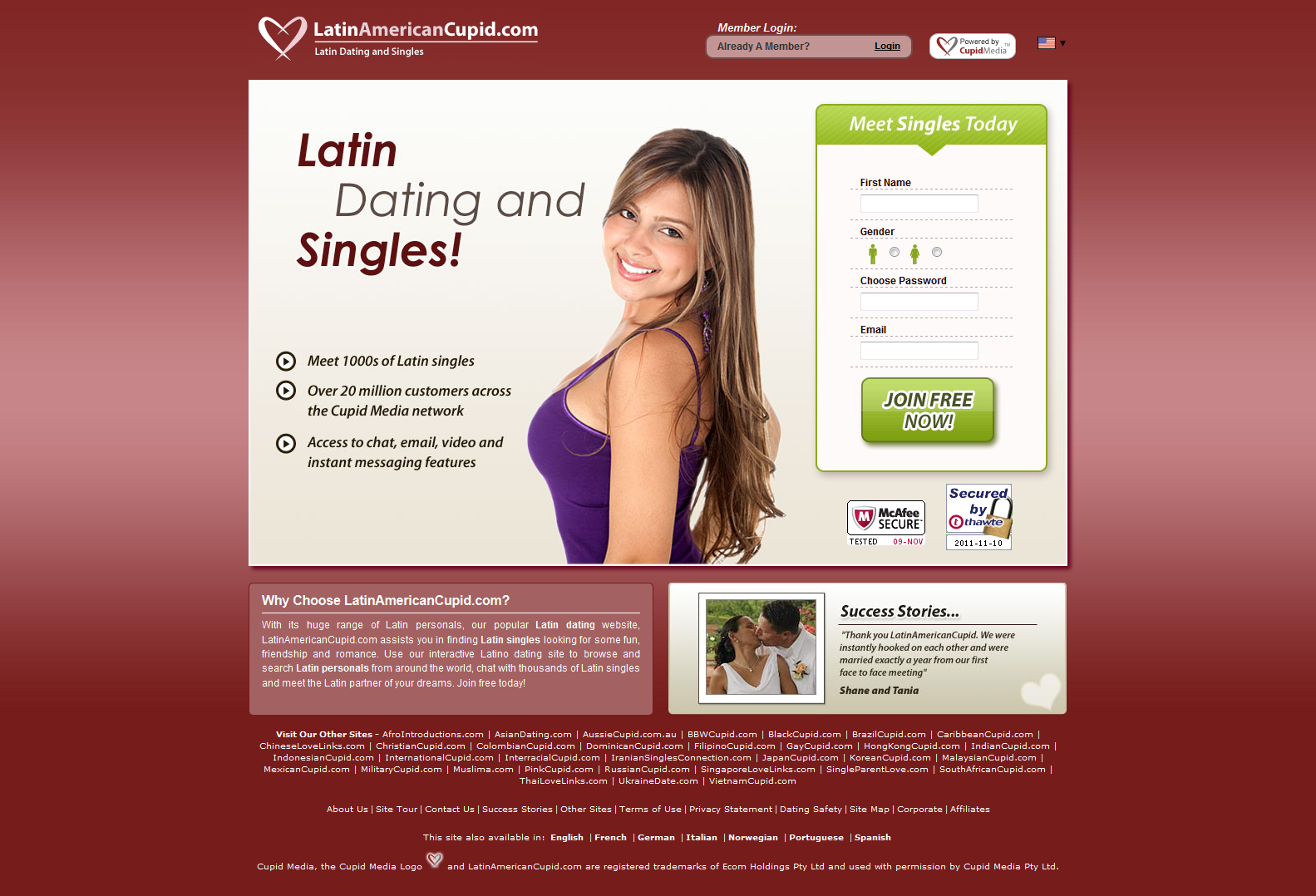 Find someone on dating sites by email