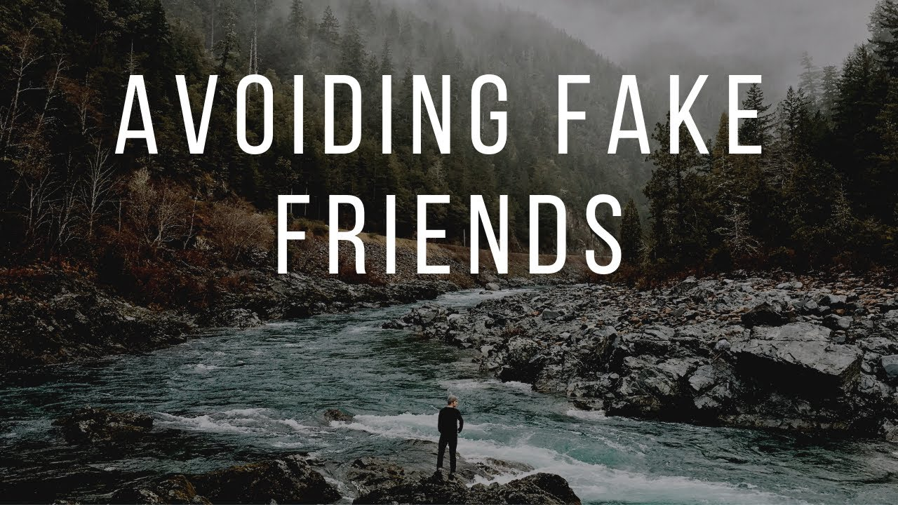 How to avoid fake people