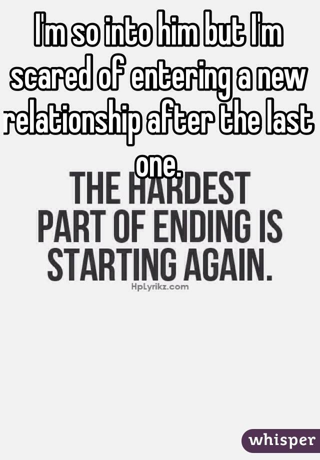 Scared of new relationship
