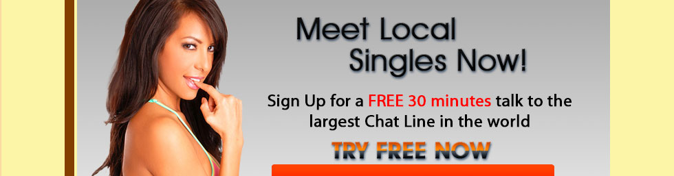 Local singles chat line.