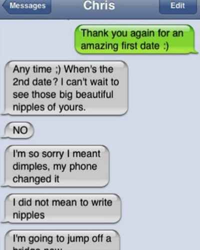 Text after first date but no second date