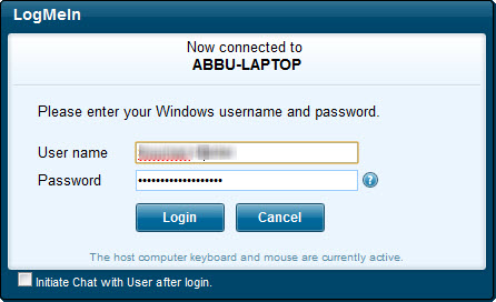 Logmein com sign in