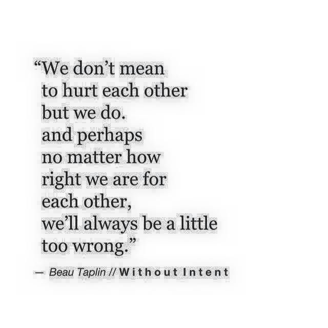 Are we right for each other