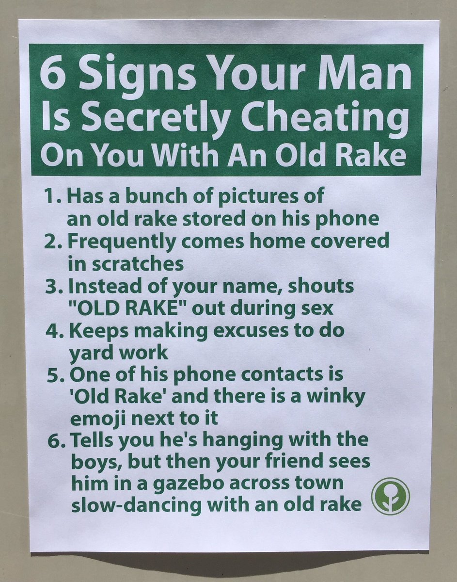 Sign your man is cheating