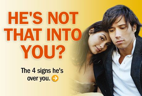 Signs hes over you