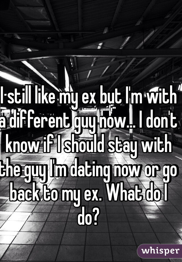 Should i go back to my ex