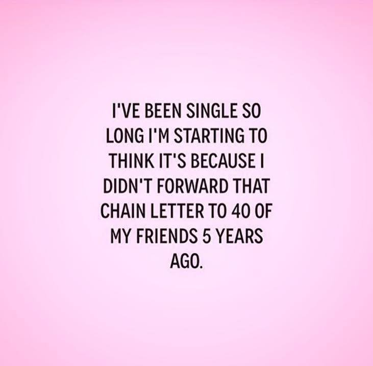Blog about being single and 40