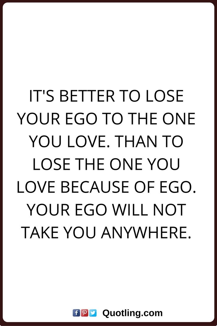 Male ego in relationships