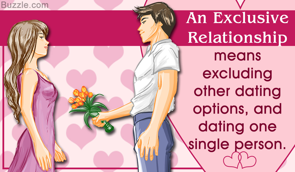What does exclusive relationship mean