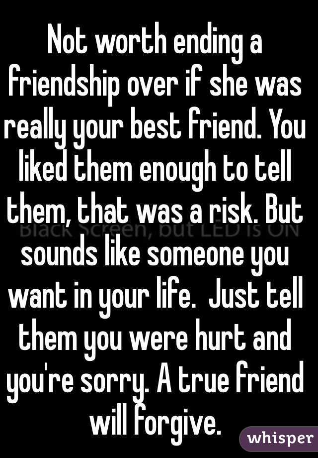 How do you know if a friendship is over