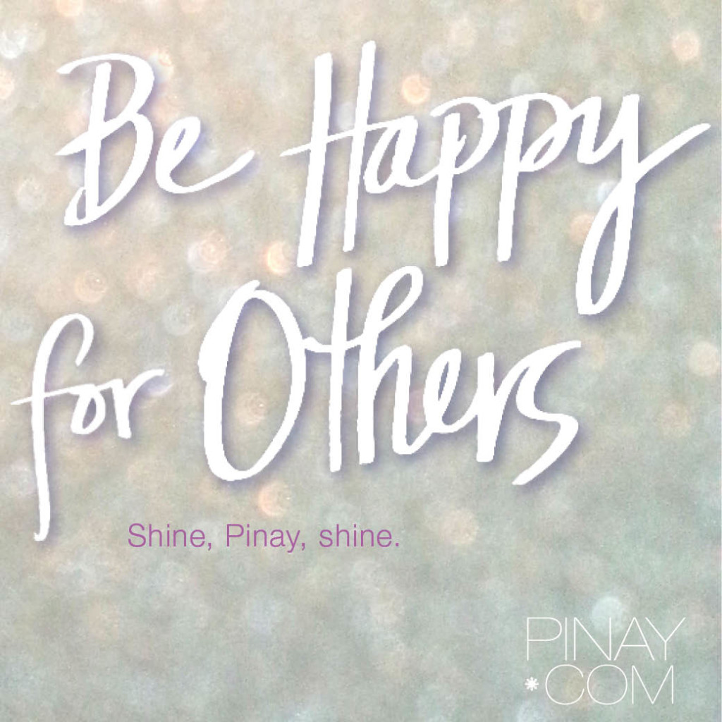 Being happy for others