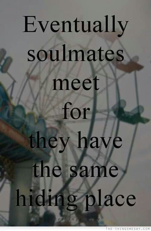 Is he your soulmate