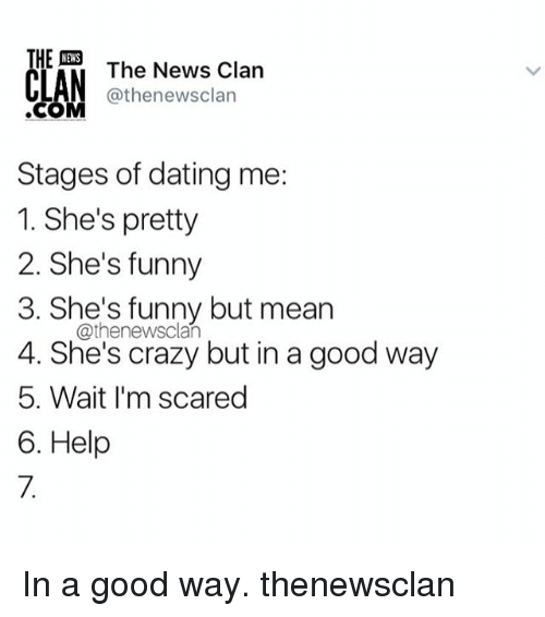 Early stages of dating