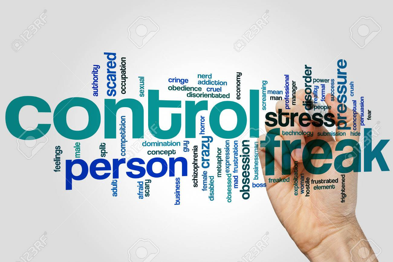 Another word for control freak