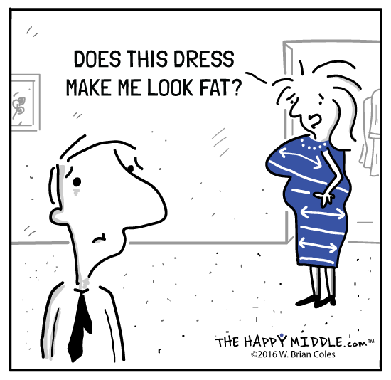 Does this dress make me look fat