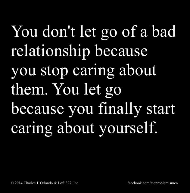 Bad reasons to stay in a relationship